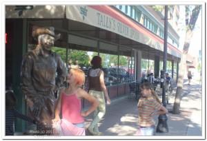 Ronald Reagan Statue in Rapid City