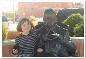Richard Nixon Statue in Rapid City