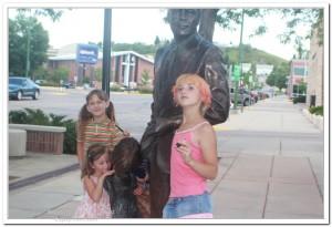Statues of Presidents in South Dakota