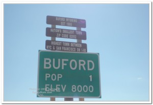 Welcome to Buford sign